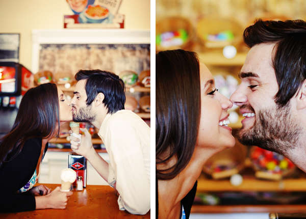 A Gorgeous Vintage Engagement Shoot from Gideon Photography