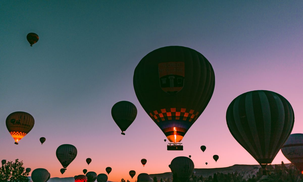 Honeymoon Adventure: Hot Air Balloons