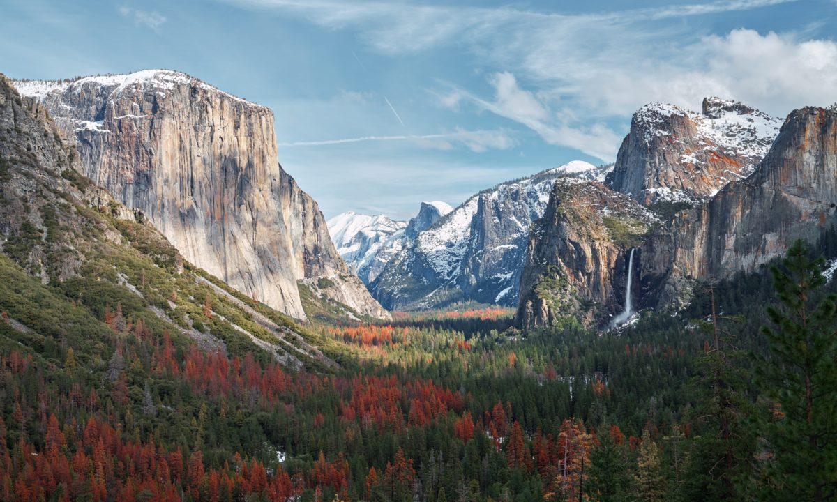 Honeymoon Camping: Yosemite National Park