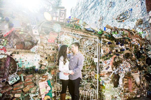 Sheryl and Brian's Philadelphia Engagement Session by Bartlett Pair Photography