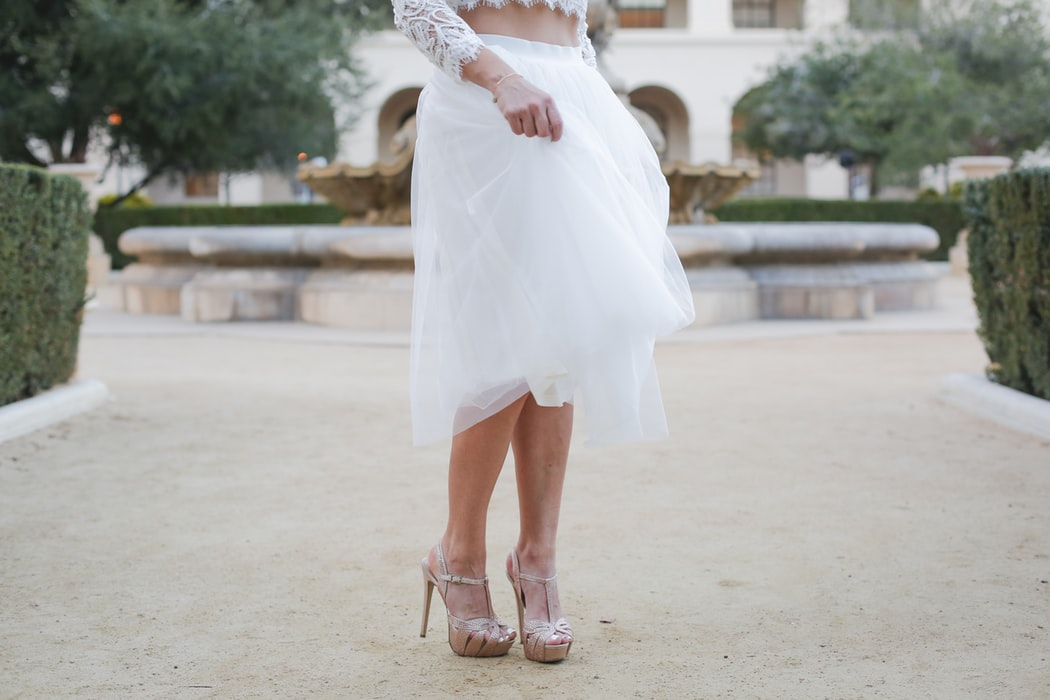 Bridal Cover-Up Fun!