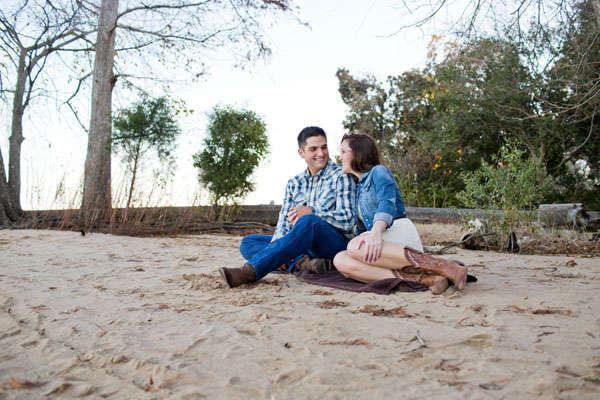 Billy and Megan's North Carolina Engagement Session by Magnolia Photography
