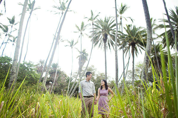 Tiffany and Michael's Hawaiian Engagement Session by Creatrix Photography