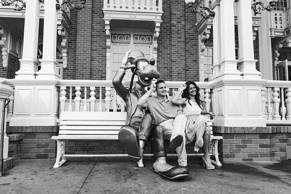 Alaina and John's Disney World Engagement Session by Concept Photography