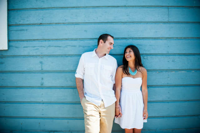Kyle and Claire's Sunny Malibu, CA Engagement Session by Viera Photographics