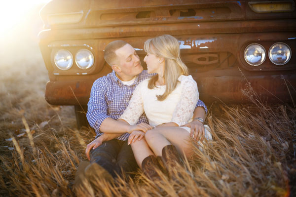 Ryan and Sarah's Denver, CO Americana Engagement Session by Brinton Studios
