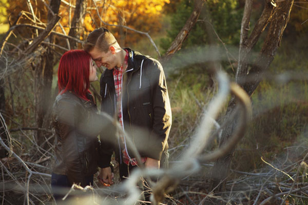 Hayden and Kate's Autumn Afternoon Engagement Session by Chris and Melodie Photographers
