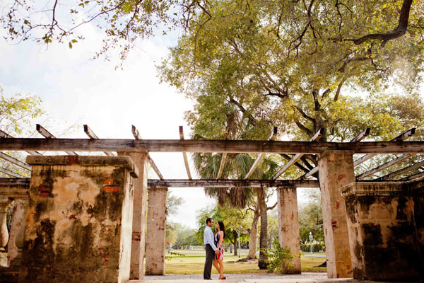 Francis and Leidi's Exotic Miami, FL Engagement Session by Photography by Santy Martinez