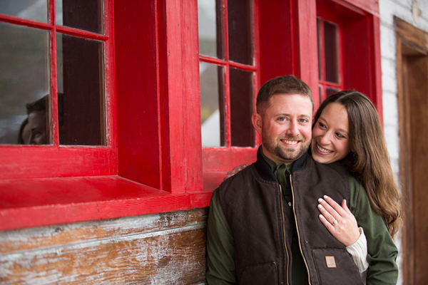 Brandon and Amanda's Chilly Alaskan Engagement Session by B.Weiss Photography