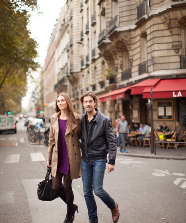 Frederic and Andrea's Romantic Day in Paris Engagement Session by Peter and Veronika