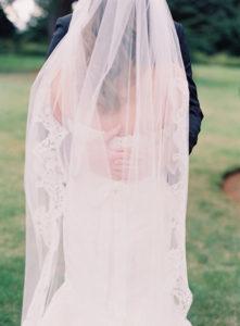Lace Detailed Veil