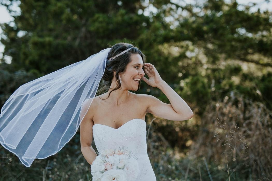 Bridal Fashion Trend: Dramatic Wedding Veils