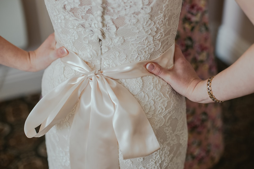 Find a Sash for Your Wedding Dress