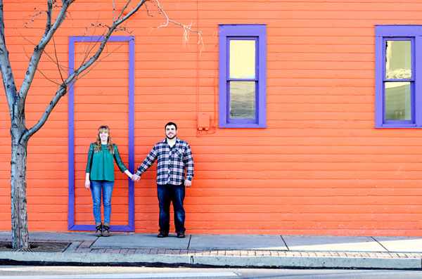 Taylor and Kim's Colorado Engagement Session by Sarah Perez Photography