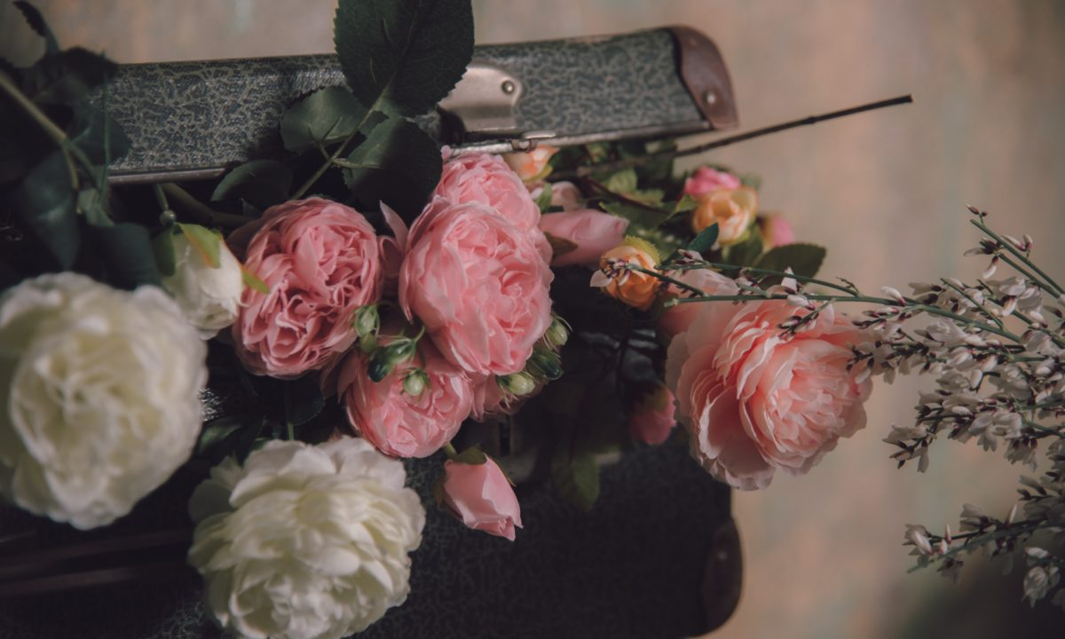 Rose Wedding Centerpieces