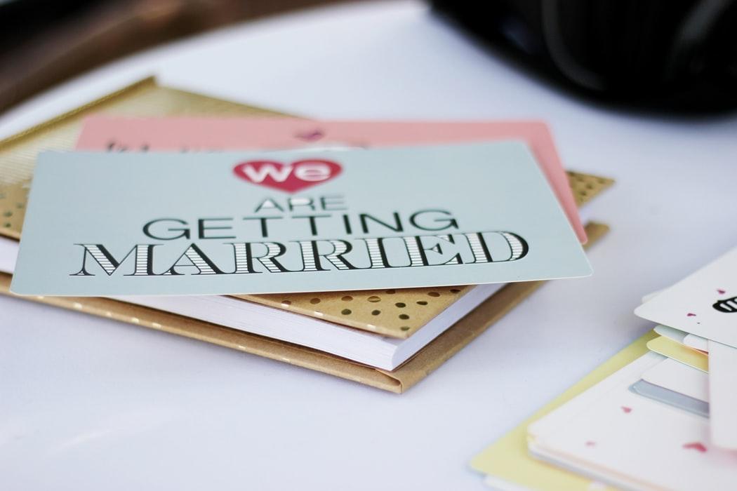 Bold Wedding Invitations