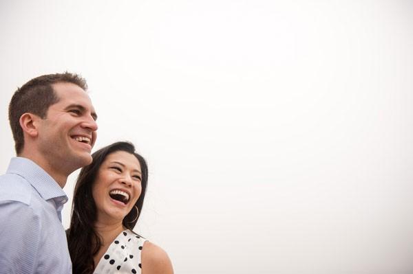 Jeff and Sharon's Foggy Coastal Engagement Session by Viera Photographics
