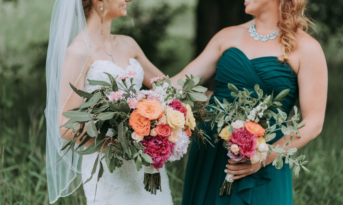 Green Wedding Color Palettes