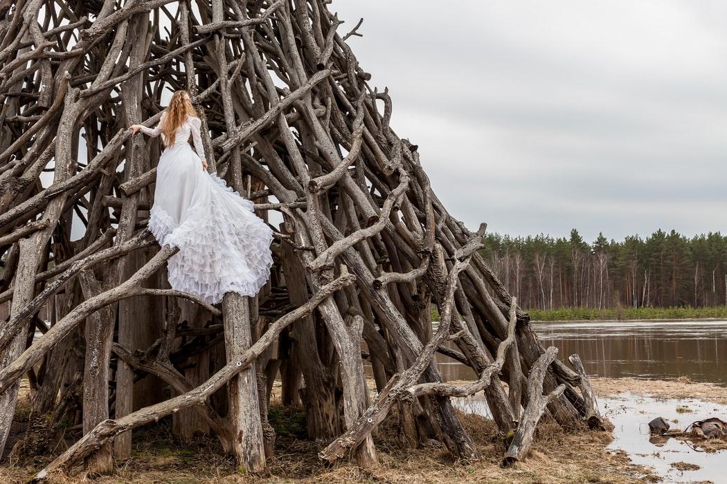 Textured Wedding Dresses