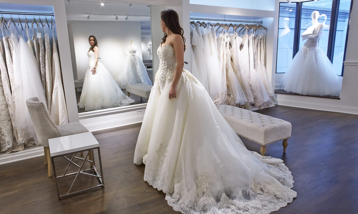 Wedding Dress Shopping When You Don T Have A Say Yes To The