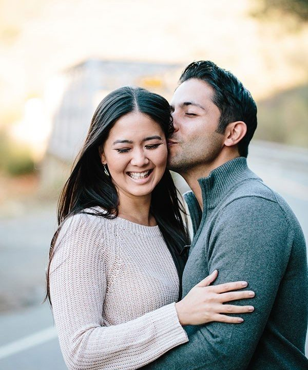 Omied and Elise's Sweet El Dorado Hills, CA Engagement Session by Lyndsay Undseth