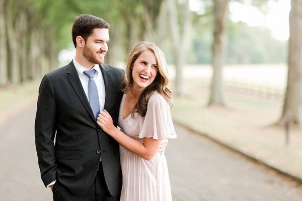Daniel and Anna's Lovely Mt. Berry, GA Anniversary Session by Katelyn James Photography