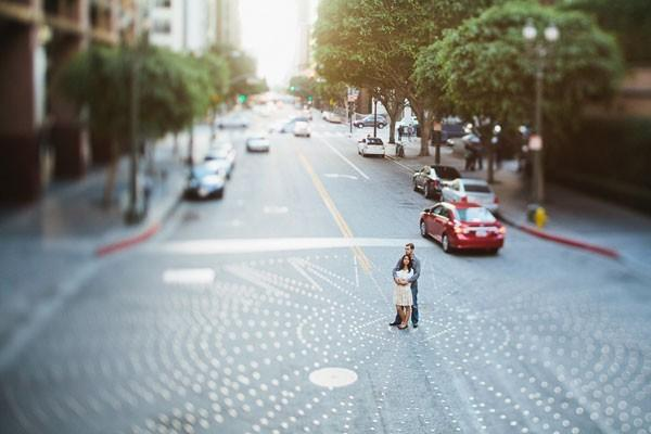 Ryan and Suling's Dynamic Los Angeles, CA Engagement Session by Let's Frolic Together