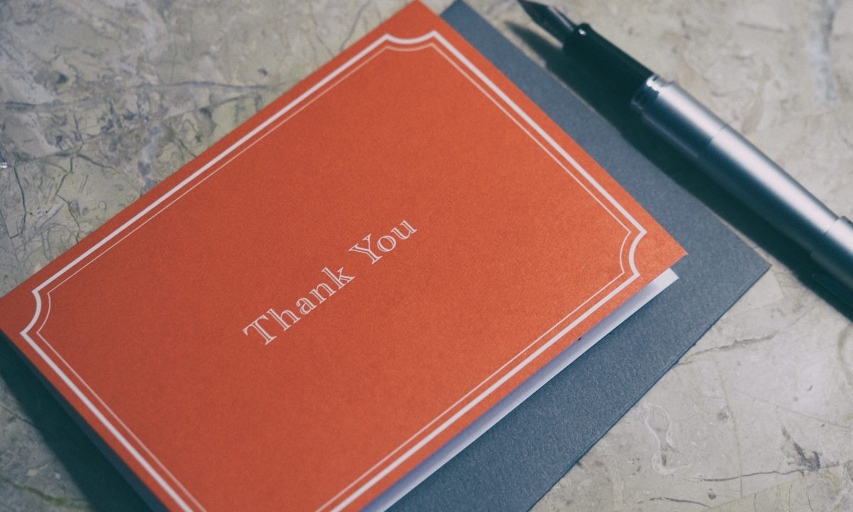 4 Easy Ways To Green Your Thank You Notes