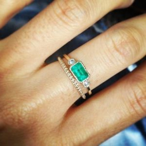 Lexie Emberald Ring