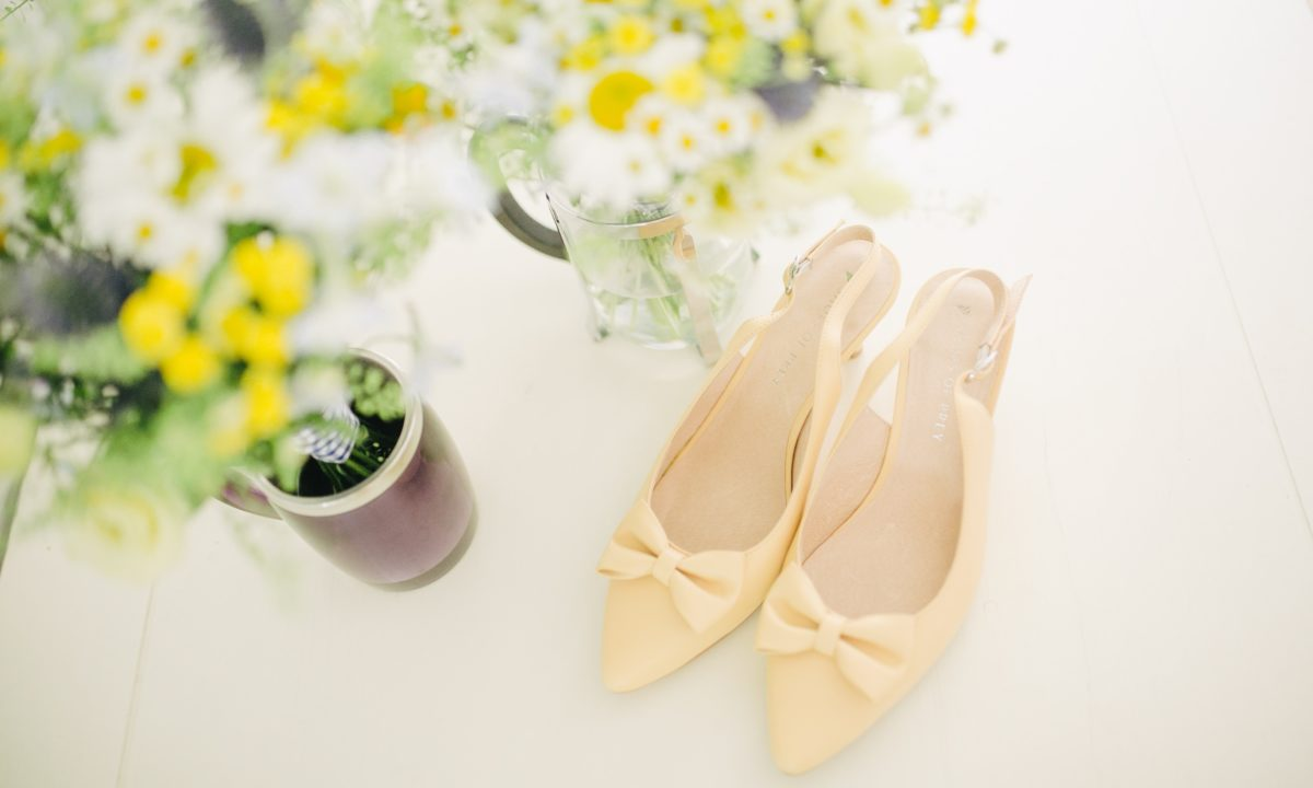 Stylish Flats and Kitten Heels for Bridesmaids