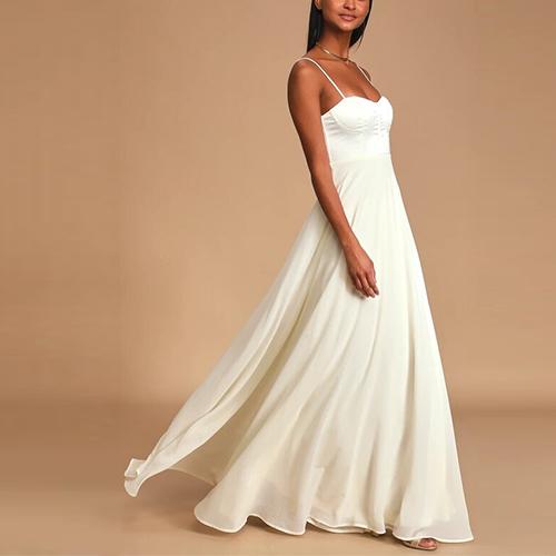 10 Simple Wedding Dresses For Boho Beach Casual Looks Mywedding,Wedding Guest Pinterest Lace Dress Styles