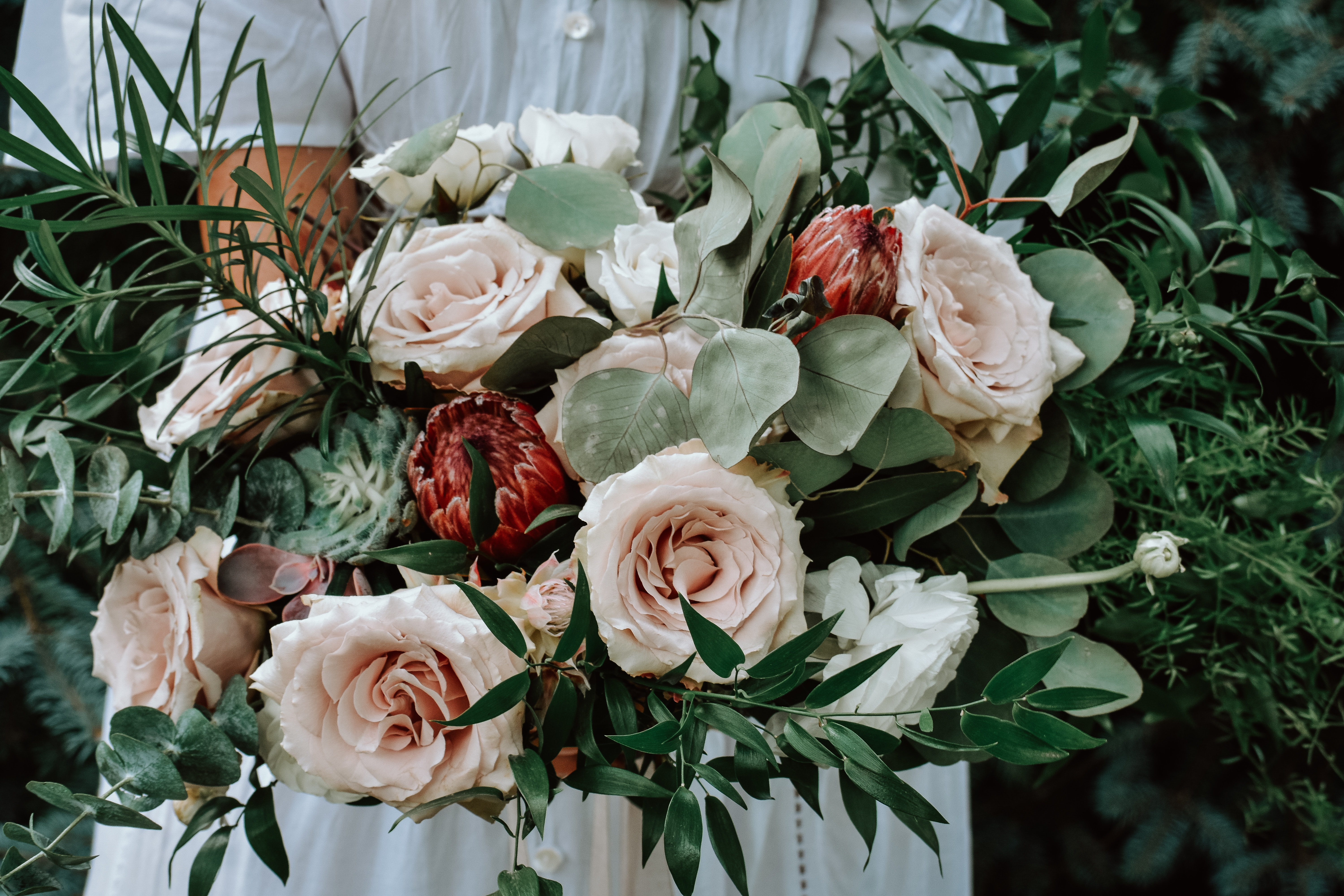 Eucalyptus Wedding Details Mywedding
