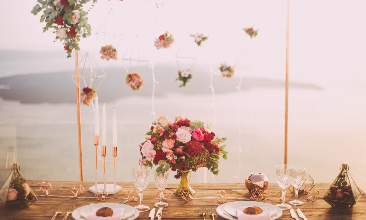 Yarn and String Wedding Decor with Major Wow Factor