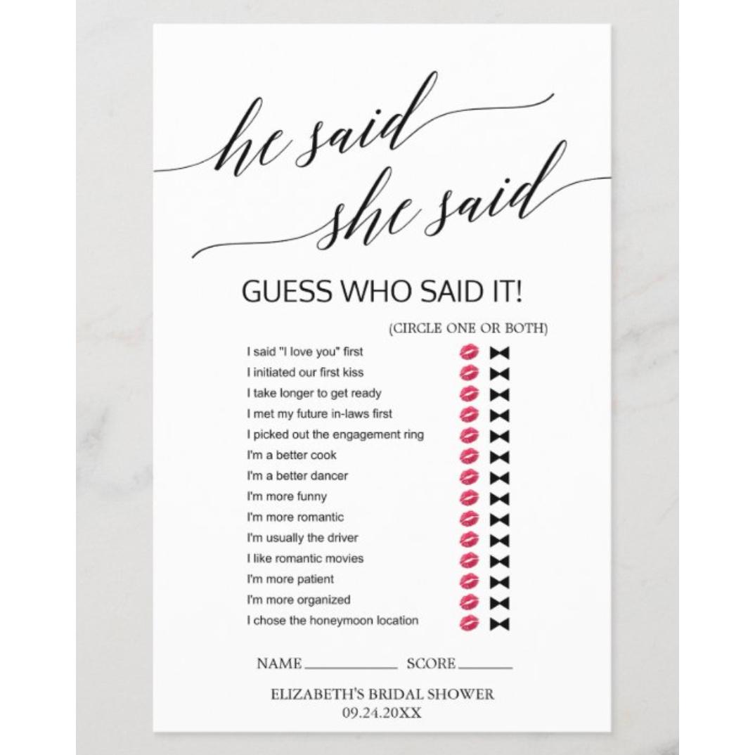 The Best Bridal Shower Games 2020 Mywedding