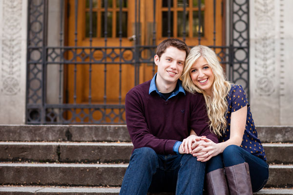 Jacque & Justin's Sweet Portland, OR Engagement Session by Powers Photography Studios