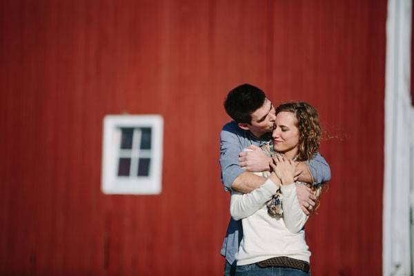 Krystina & Caleb's Michigan Farm Engagement Session by Phrene Exquisite Photography