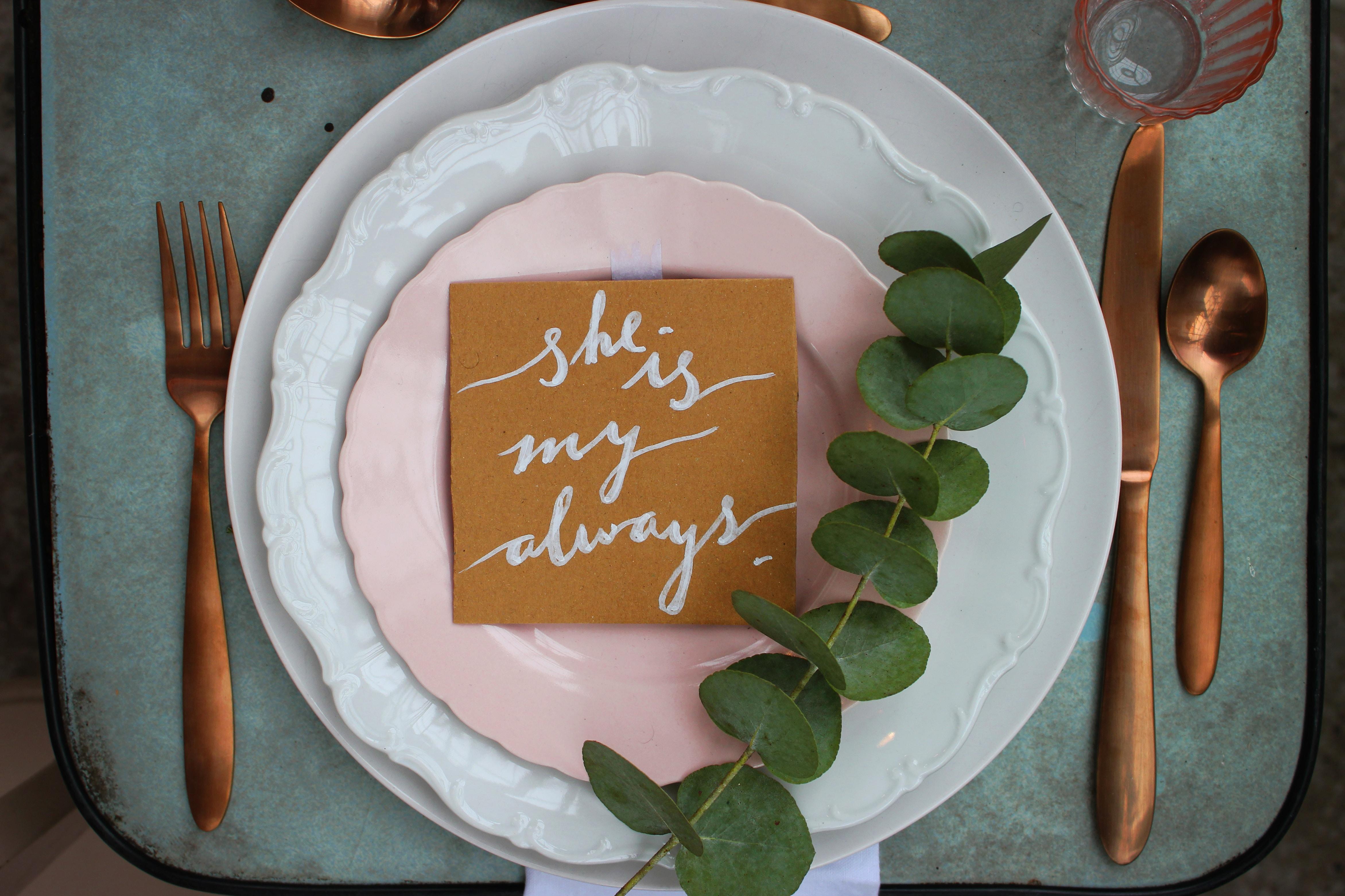 Creative Wedding Place Settings Mywedding
