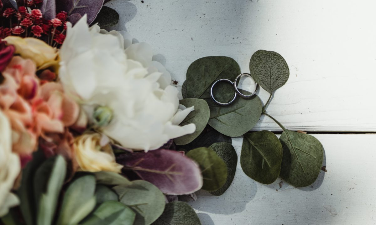 Fruits & Veggies in Wedding Bouquets