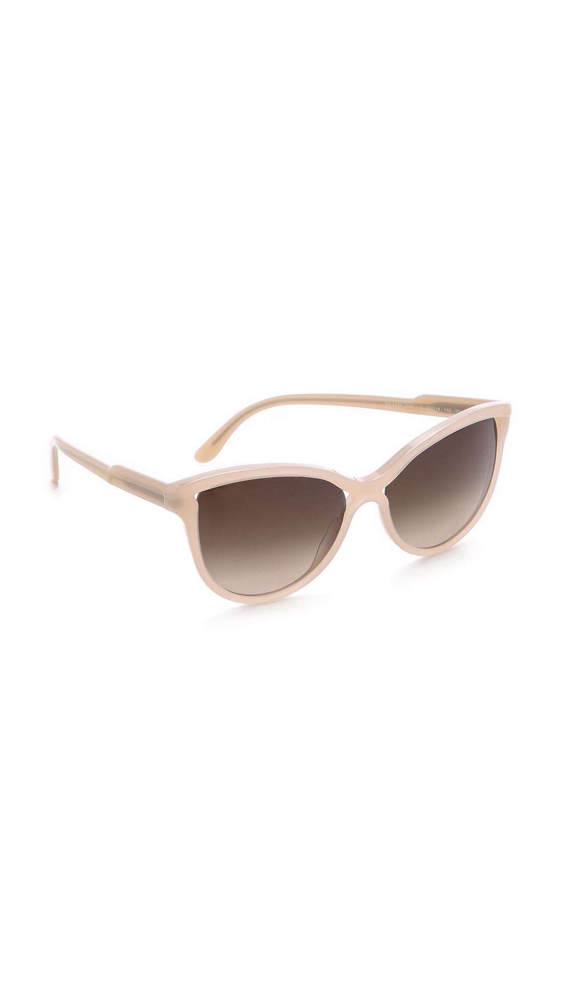 Blush Colored Sunglasses