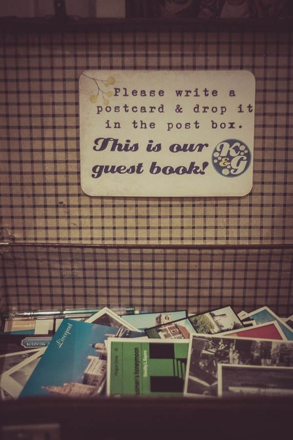 snail mail guestbook