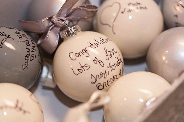 ornament guestbook