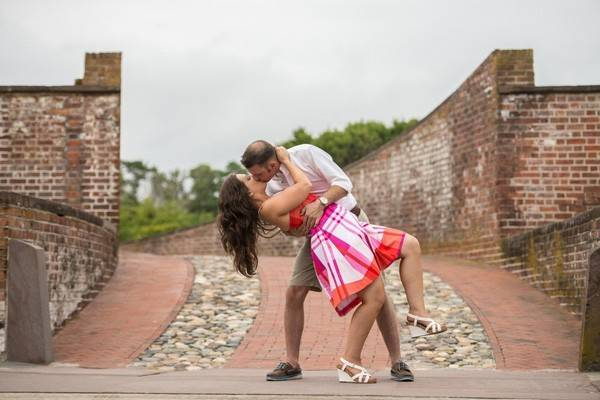 Jodie & Drew's Sweet Fort Macon, NC E-Session by Open Aperture Photography