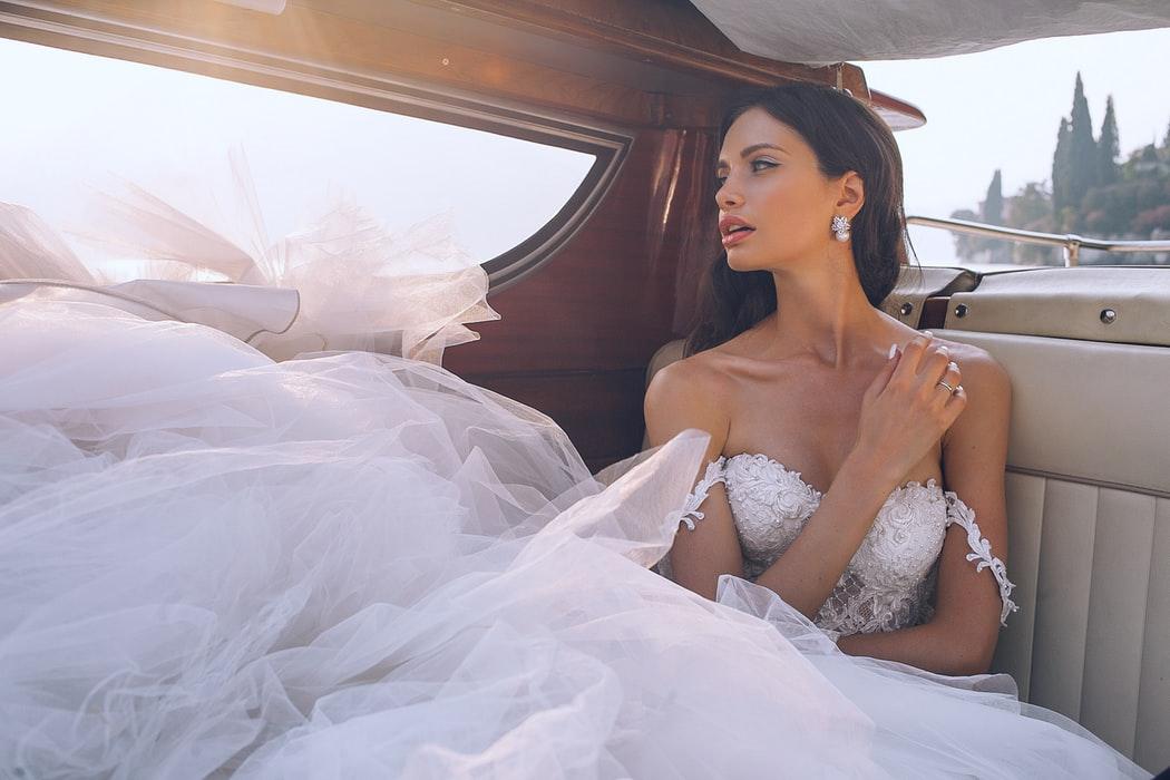 Sheer Detailed Wedding Dresses