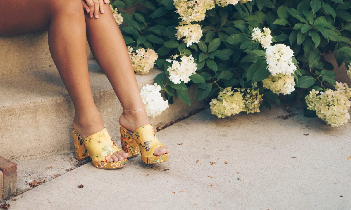Flower Inspired Shoes For Your Wedding