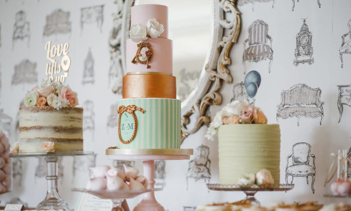 Gold Foil Wedding DIY Ideas