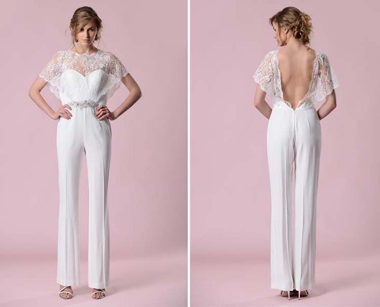 Modern Bridal Jumpsuits & Pantsuits