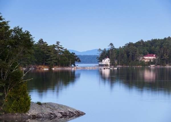Blue Hill, Maine lake