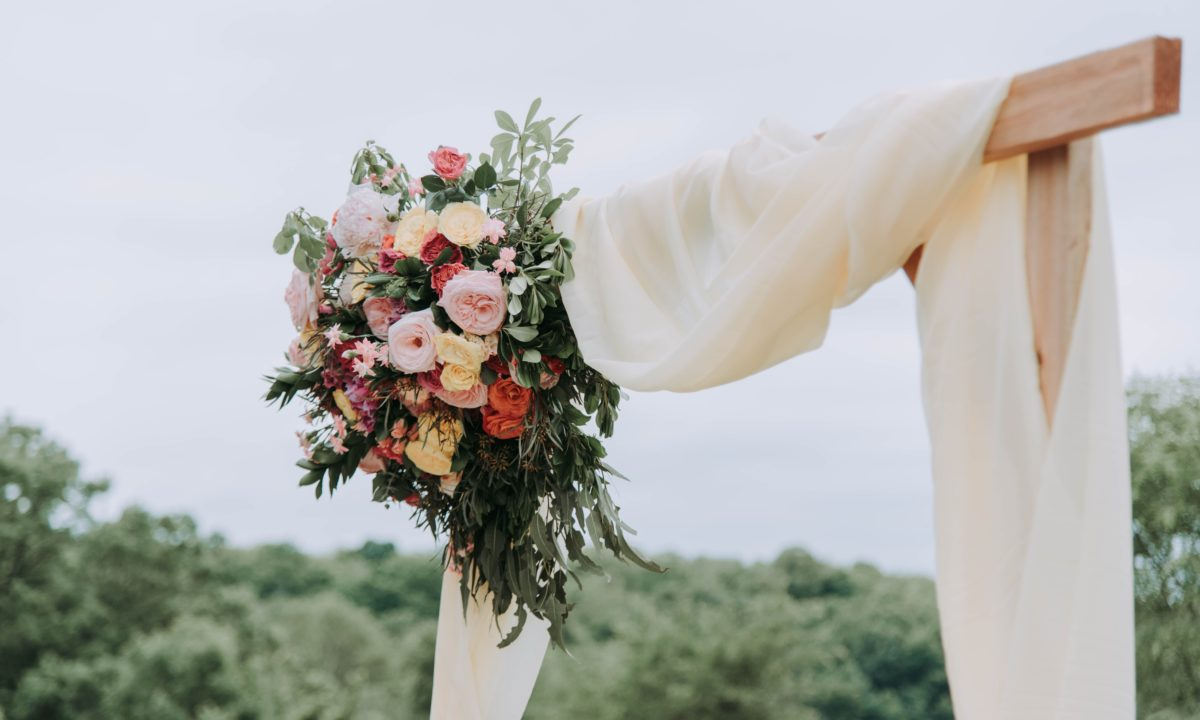 Gorgeous Floral Wedding Backdrops