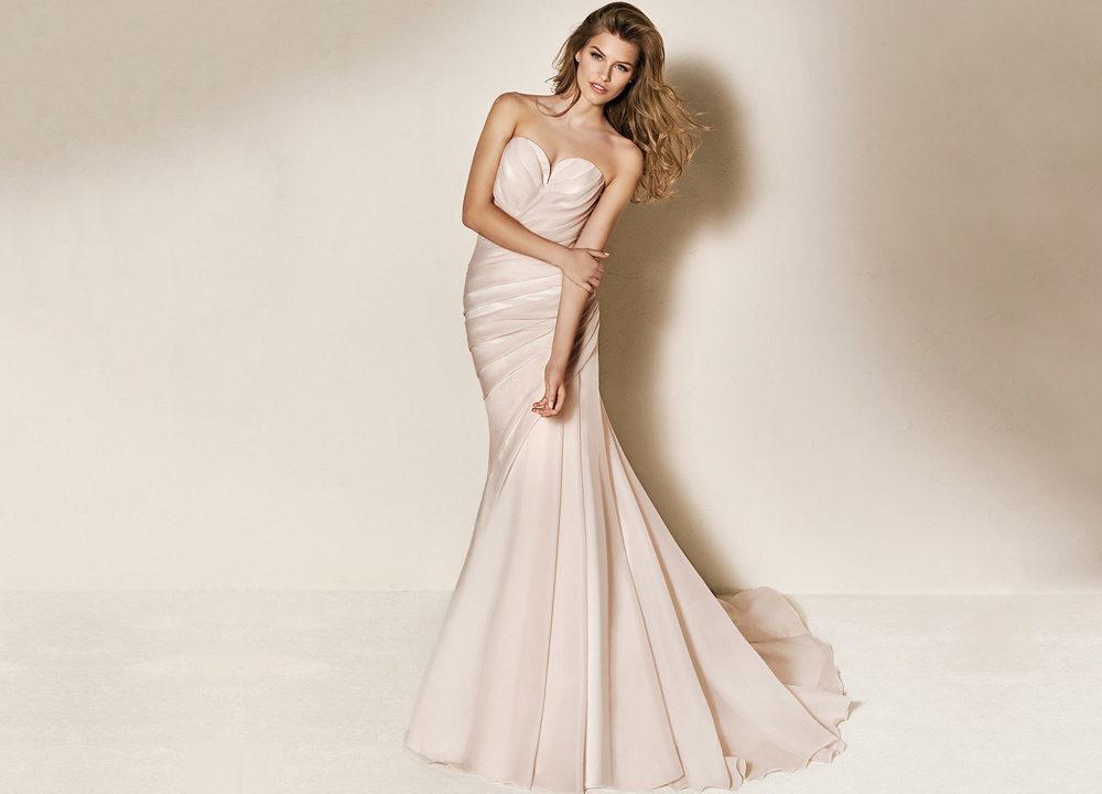 Blush Wedding Dresses for the Modern Bride