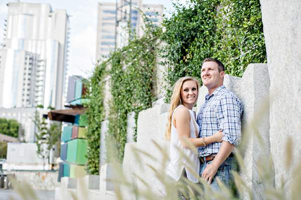 Brianna & Ryan's Sweet Charlotte, NC Engagement Session by Just a Dream Photography